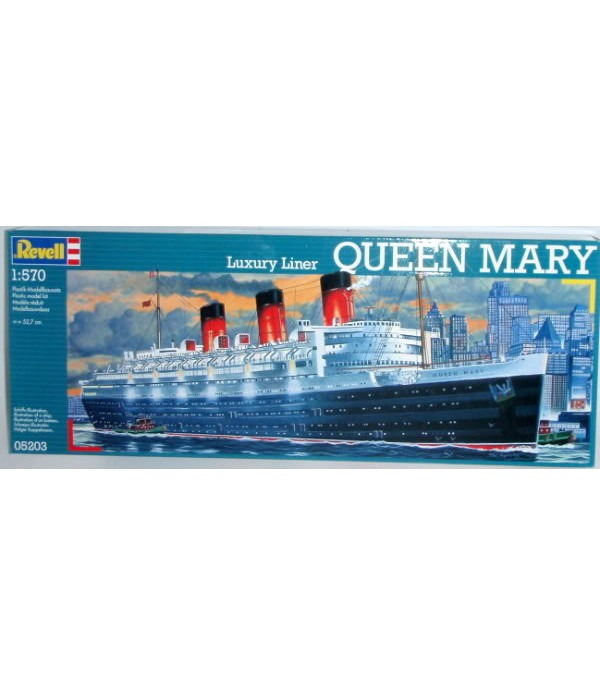 Queen Mary Ship REVELL 05203