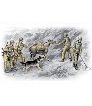 Фигуры, Советские саперы, война в Афганистане 1979-1988 ICM 35031