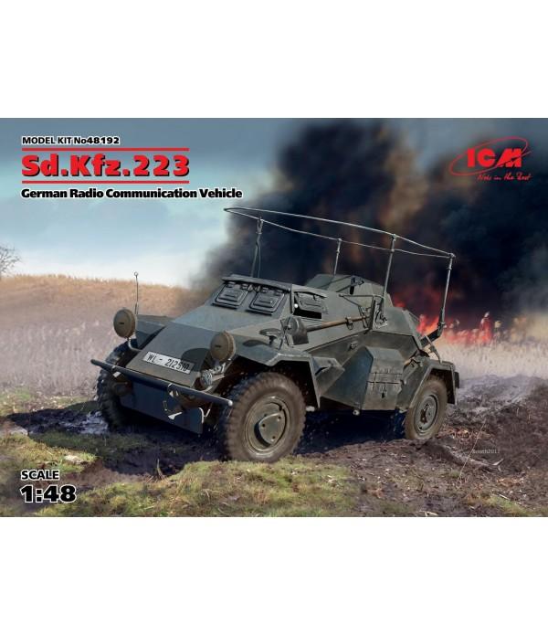 Германский бронеавтомобиль радиосвязи ІІ МВ ICM 48192