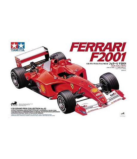Автомобиль Ferrari F2001 TAMIYA 20052
