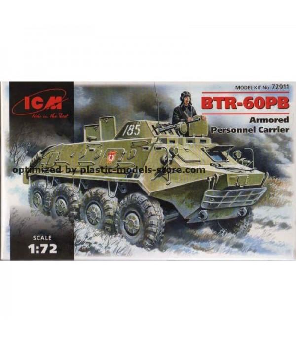 БТР-60 ПБ, бронетраспортёр ICM 72911