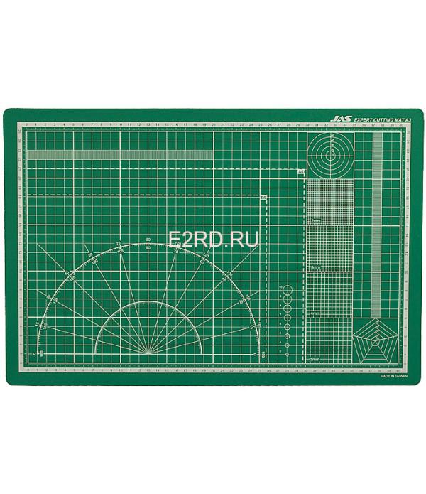 Коврик для резки, самовосстанавливающийся 3х слойный, А3, 300x450 JAS 4503