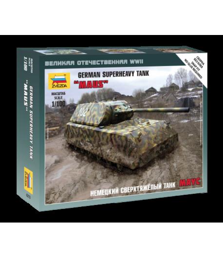 Немецкий сверхтяжелый танк «Маус» ЗВЕЗДА 6213