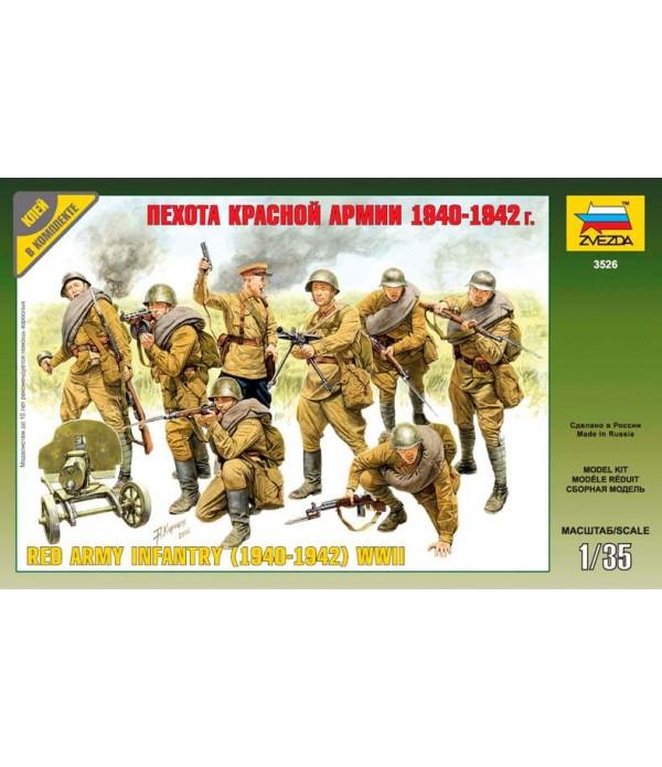 Пехота красной армии (1940-1942 г.) ЗВЕЗДА 3526