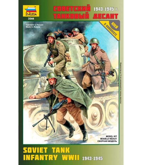 Советский танковый десант (1943-1945 г.) ЗВЕЗДА 3544
