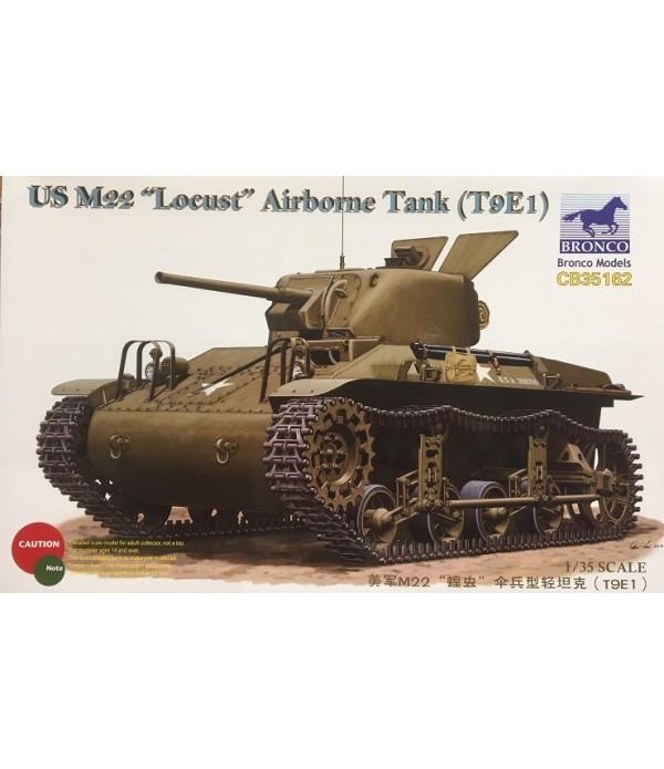 Танк US M22 Locust Airborne Tank (T9E1) (1:35) BRONCO CB35162