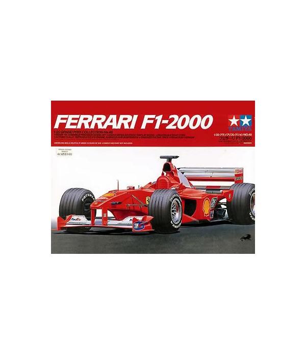 Автомобиль Ferrari F1-2000 TAMIYA 20048