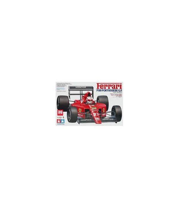 Автомобиль Ferrari F189 Portuguese GP TAMIYA 20024
