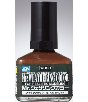 WC03 Смывка MR.WEATHERING COLOR 40 мл GUNZE SANGYO