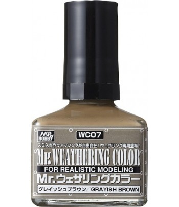 WC07 Смывка MR.WEATHERING COLOR 40 мл GUNZE SANGYO