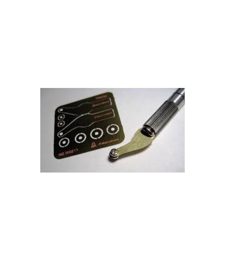 Ревитер тип 2 (0,75 мм 1 мм 1,25 мм 1, 5 мм) МИКРОДИЗАЙН МД000213