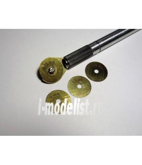 Ревитер тип 3 для крупных поверхностей ( 0,75 мм 1 мм 1,25 мм 1, 5 мм) МИКРОДИЗАЙН МД000214
