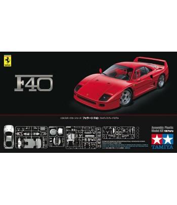 Автомобиль Ferrari F40 1/24 TAMIYA 24295