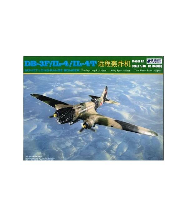 DB-3F/IL-4/IL-4T Soviet Long Range Bomber BOBCAT 48005