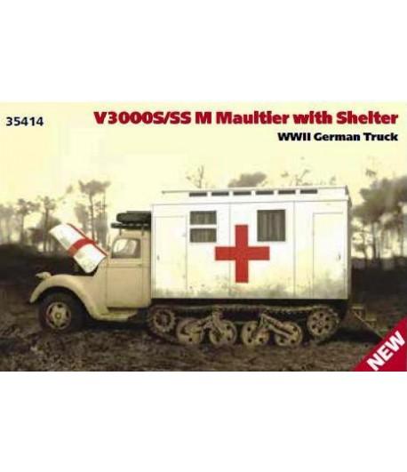 Германский санитарный автомобиль V3000S/SS M Maultier ICM 35414