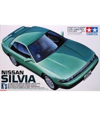 Автомобиль Nissan Silvia K's S13 TAMIYA 24078