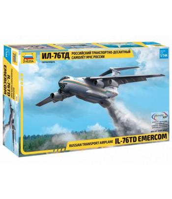 Российский транспортно-десантный самолет Ил-76 ТД МЧС России ЗВЕЗДА 7029