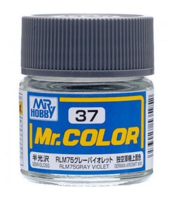 C37 краска художественная MR.HOBBY 10мл RLM75 GRAY VIOLET GUNZE SANGYO