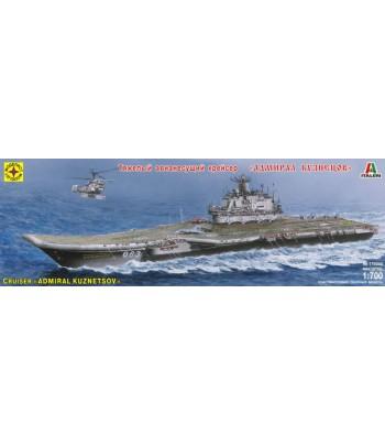 """Авианесущий крейсер """"Адмирал Кузнецов"""" (1:700) МОДЕЛИСТ 170044"""