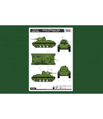 Советский пехотный танк T-50 HOBBY BOSS 83827