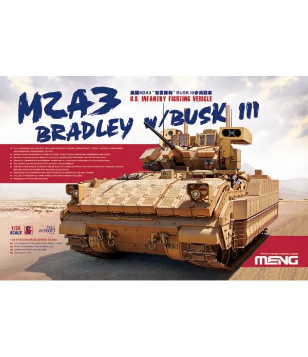 БМП M2A3 Bradley w/busk III MENG SS-004