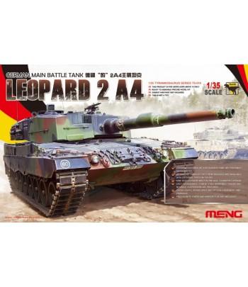 Германский основной боевой танк LEOPARD 2 A4 MENG TS-016