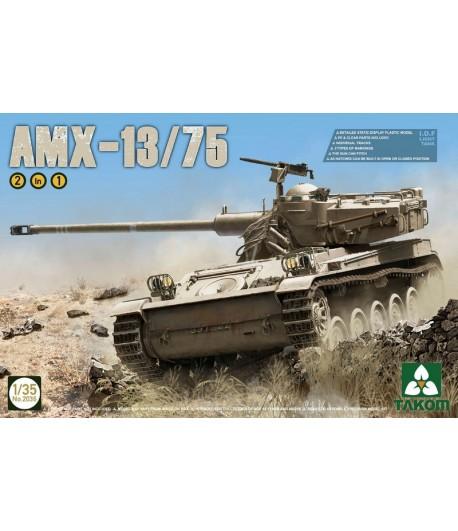 Французский лёгкий танк AMX-13/75 TAKOM TAK2036