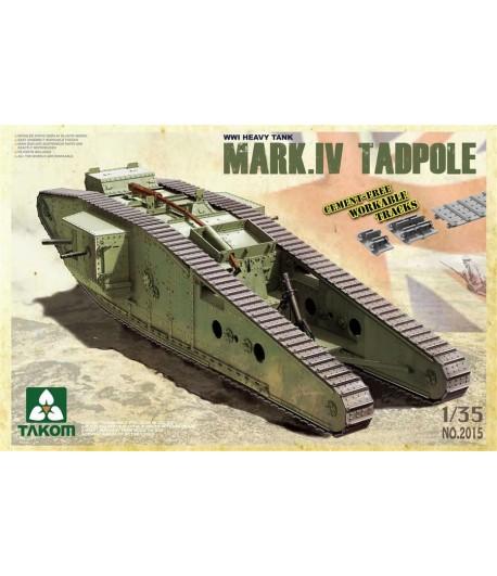 Британский тяжелый танк MARK IV TADPOLE TAKOM TAK2015