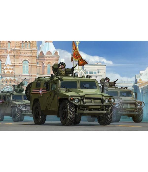 Российский бронированный автомобиль ГАЗ 233115 Тигр-М MENG VS-008