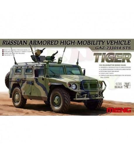 Российский бронированный автомобиль ГАЗ 233014 Тигр MENG VS-003