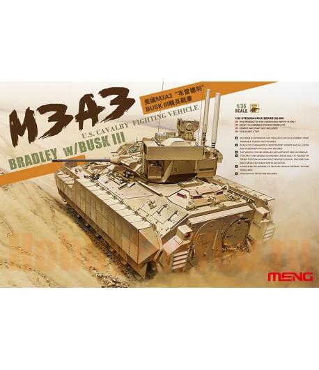 БТР М3А3 BRADLEY w/BUSK III MENG SS-006