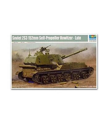 Советская 152мм самоходная артиллерийская установка 2С3 Акация TRUMPETER 05567