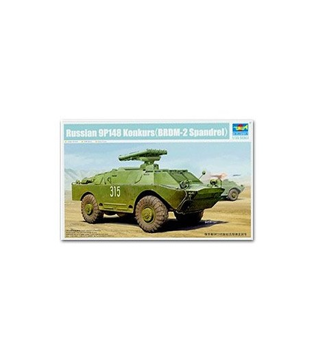 9П148 советская боевая машина противотанкового комплекса БРДМ-2 Конкурс TRUMPETER 05515
