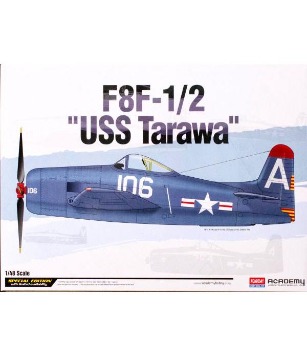 АмериканскийпоршневойистребительF8F-1/2USSTarawa ACADEMY12313