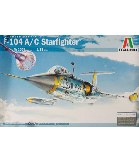 F-104 A/C Starfighter ITALERI 1359