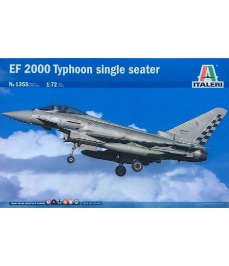 EF 2000 Typhoon single seater ITALERI 1355