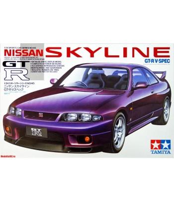 Автомобиль Nissan Skyline GT-R V.Spec TAMIYA 24145