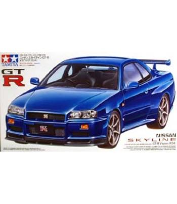 Автомобиль Nissan Skyline GT-R V.Spec (R34) TAMIYA 24210