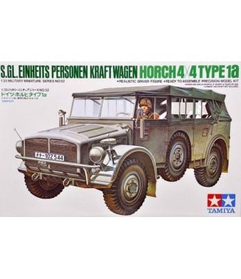 Немецкий штабной автомобиль Horch Type 1A с фигурой водителя TAMIYA 35052