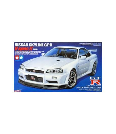 Автомобиль Nissan Skyline GT-R V.Spec II TAMIYA 24258