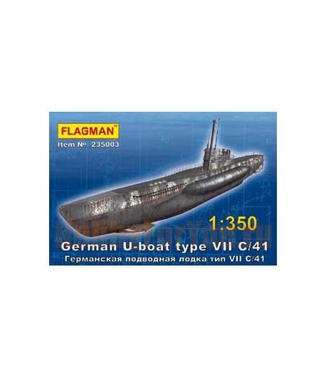 Германская подводная лодка тип VII C/41 ФЛАГМАН 235003