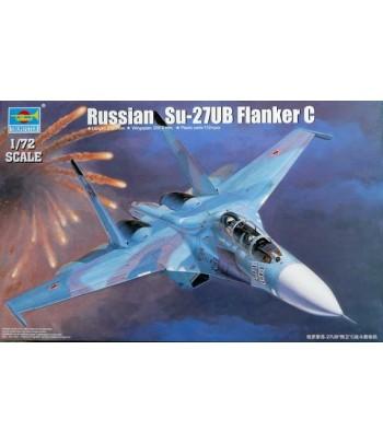 Russian Su-27UB Flanker C TRUMPETER 01645