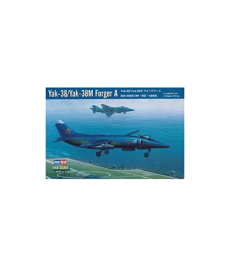 Yak-38M Forger A HOBBY BOSS 80362