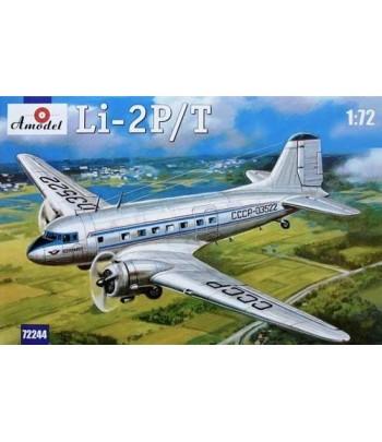 Самолет Li-2P/T AMODEL 72244