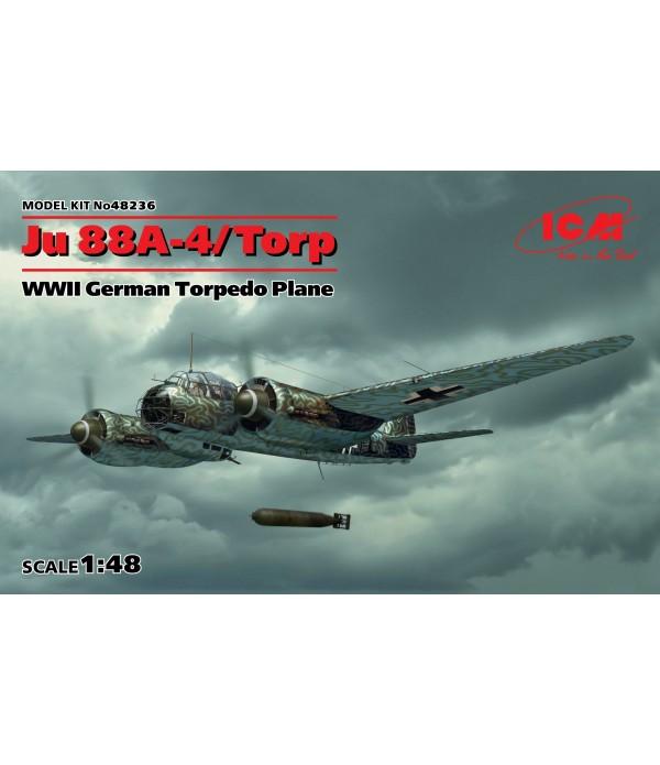 Torp, Германский торпедоносец ІІ МВ, Ju 88A-4 ICM 48236