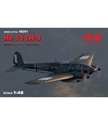 He 111H-3, Германский бомбардировщик ІІ МВ ICM 48261