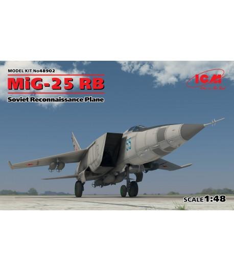 МиГ-25 РБ, Советский самолет-разведчик ICM 48902