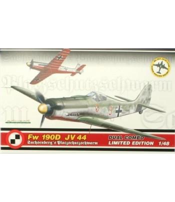Самолет FW 190D JV 44 Dual combo EDUARD 1154