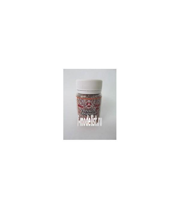 Камень калиброваный, №18 красный мрамор 1-2,5 мм