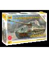 "Немецкий тяжелый танк T-VI Ausf.B ""Королевский тигр"" с башней Хеншель ЗВЕЗДА 5023"